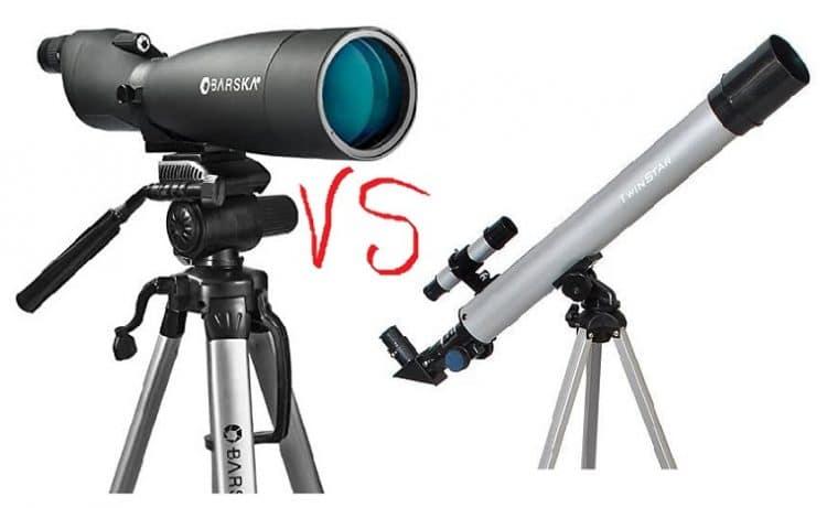 Spotting Scope vs Telescope