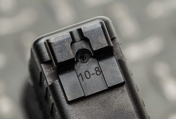 Glock 43 rear Sight installation